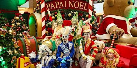Desconto! Papai Noel na sua casa virtualmente ou presencialmente ingressos