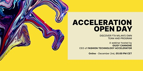 Acceleration Open Day tickets