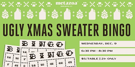 Ugly Christmas Sweater Bingo Night tickets