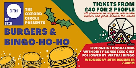 Burgers and Bingo-ho-ho | The Oxford Circle x Dirty Bones tickets