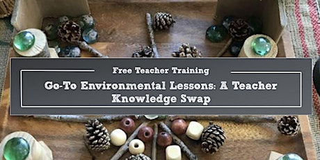 Go-To Environmental Lessons: A Teacher Knowledge Swap tickets