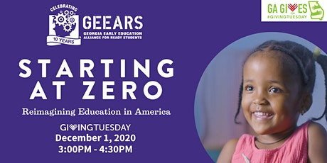 Celebrate GivingTuesday with GEEARS - Film Screening and Live Q & A tickets
