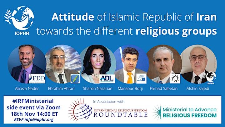 Attitude of Islamic Republic of Iran towards the different religious groups image