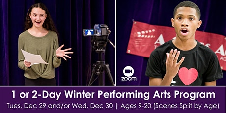1 & 2-Day Winter Performing Arts Program tickets
