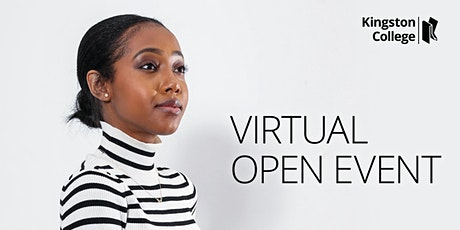 Kingston College Virtual Open Event - Post 16 School Leavers tickets