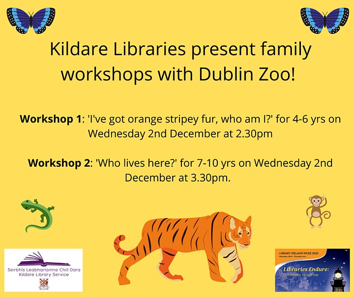 'Who Lives Here?' Family Workshop with Dublin Zoo image