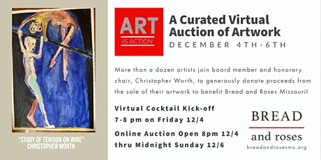 Art Is Action  Virtual Cocktail Kickoff tickets