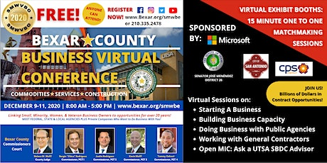 2020 Bexar County Business Virtual Conference tickets