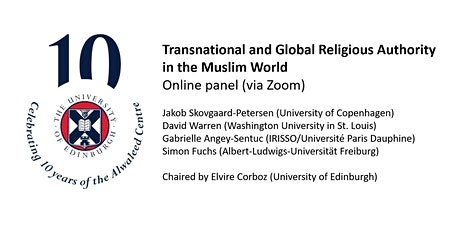 Transnational and Global Religious Authority in the Muslim World tickets