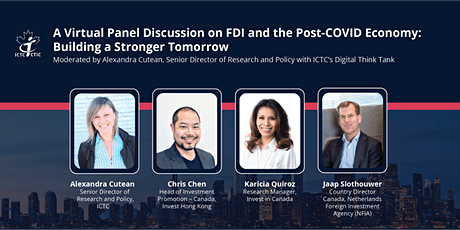 FDI & the Post COVID Economy: Building a Stronger Tomorrow tickets