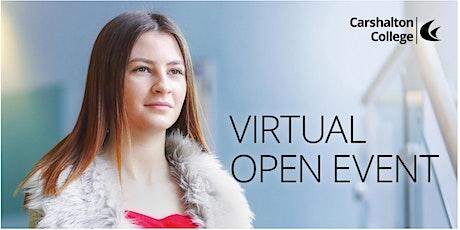 Carshalton College  Virtual Open Event - Post 16 School Leavers tickets