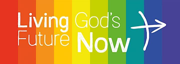 Living God's Future Now conversation - Steve Chalke image