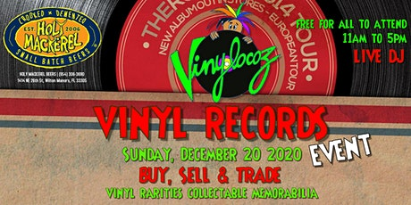 Vinyl Records Show - Buy, Sell & Trade Event at Holy Mackerel Brewery tickets