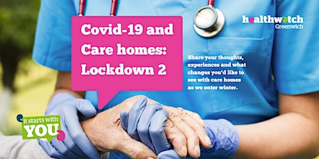 Covid-19 and Care homes: Lockdown 2 (Tuesday Meeting) tickets