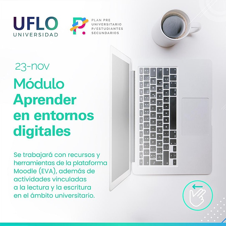 Imagen de Plan Pre Universitario para Estudiantes: Aprender en entornos digitales