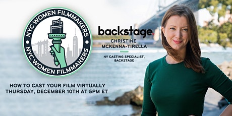 How to Cast Your Film Virtually tickets