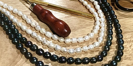 Jewelry Workshop: Pearl & Bead Stringing tickets