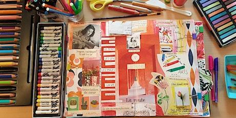 Ateliers d'épanouissement personnel par la pratique du Journal Créatif© billets