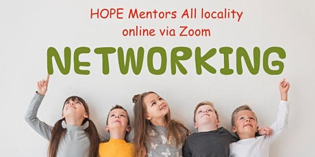 HOPE Mentor Networking-all localities tickets