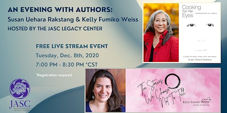 Panel Discussion with authors Susan Uehara Rakstang and Kelly Fumiko Weiss tickets