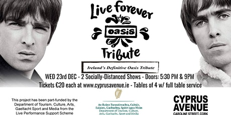 Live Forever - Oasis Tribute Early Show tickets