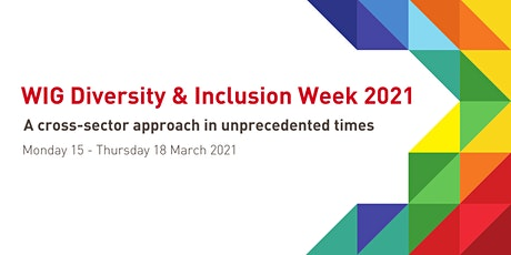 D&I Week 2021: A cross-sector approach in unprecedented times tickets