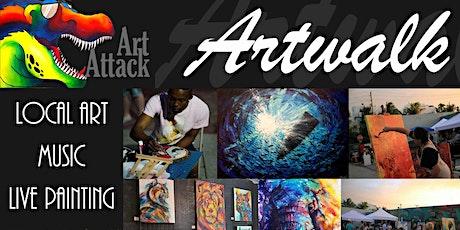 Artwalk at Art Attack! tickets