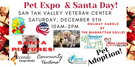 Pet Expo & Santa Day! tickets