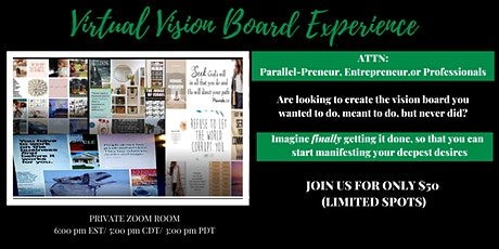 Activate Your Business Virtual Vision Board Experience tickets