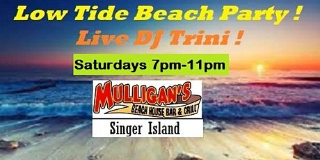 FREE ~ LOW TIDE BEACH PARTY ft/ DJ TRINI ! tickets