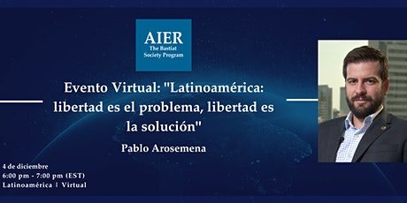 Latinoamérica | Evento Virtual con Pablo Arosemena tickets