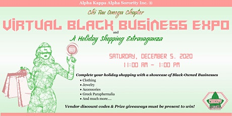 CTO Virtual Black Business Expo & Holiday Shopping Extravaganza tickets