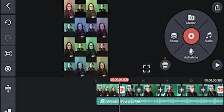 Online Kurs: Mobiler Videoschnitt mit Kinemaster Tickets