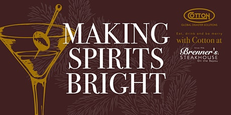 Making Spirits Bright - A Cotton Holiday Social tickets