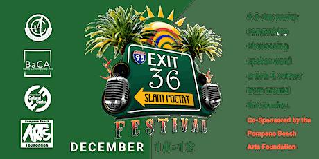 Exit 36  Slam Poetry Festival - Festival Pass Tickets