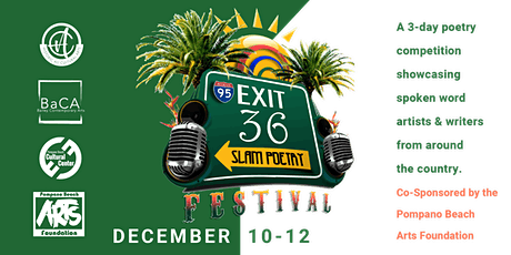 Exit 36  Slam Poetry Festival - Poetry Pass tickets