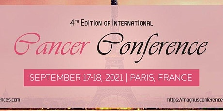 4th Edition of International Cancer Conference billets
