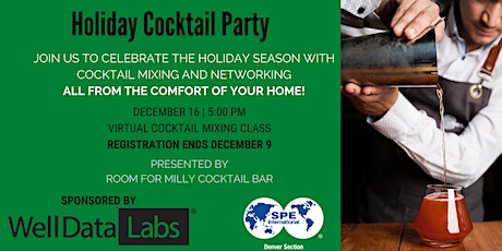SPE Virtual Holiday Party | Cocktail Mixing Class tickets