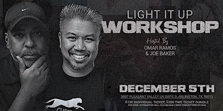 Light It Up - Photography Workshop tickets