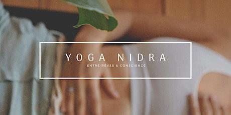 Yoga Nidra en ligne - relaxation & pleine conscience billets