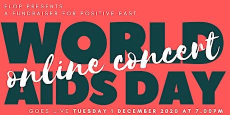 elop presents: World AIDS Day Online Concert tickets