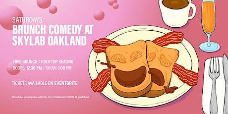 Brunch Comedy at Skylab Oakland (Free Brunch Item & Mimosa!) tickets