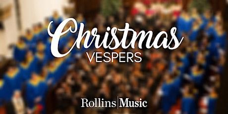 Rollins Christmas Vespers tickets