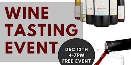 Wine Tasting Event! tickets