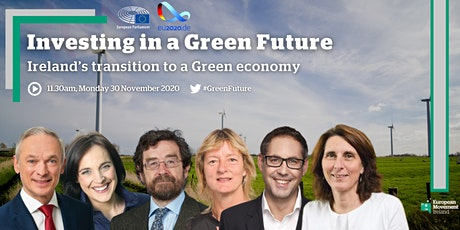 Investing in a Green Future – Ireland's Transition to a Green Economy tickets