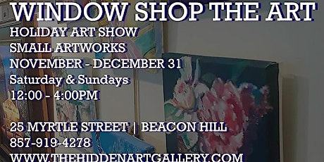 SMALL ARTWORKS HOLIDAY SHOW tickets