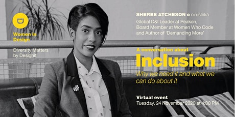 Women in Design: A conversation about Inclusion tickets