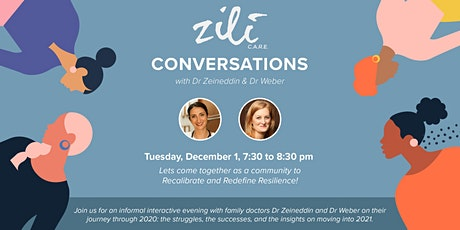 Zili CARE Conversations tickets