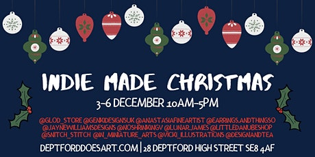 INDIE MADE CHRISTMAS MARKET tickets