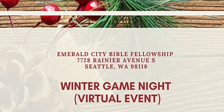 Winter Game Night (Virtual Event) tickets